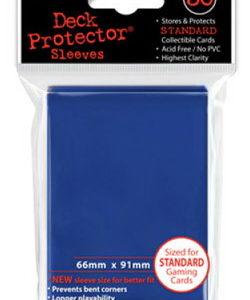 Deck Protector azul 66x91 mm