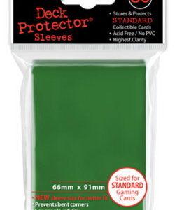 Deck Protector verde 66x91 mm