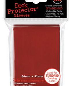 Deck Protector Rojo 66x91 mm