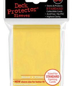 Deck Protector Amarillo 66x91mm