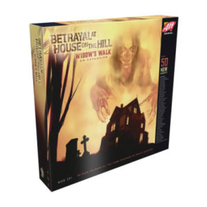 BETRAYAL AT HOUSE ON THE HILL EXPANSION: WIDOW