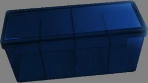Caja 4 espacios Dragon Shield Azul