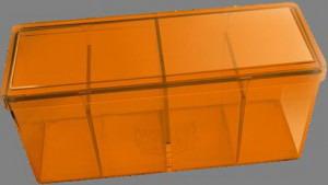 Caja 4 espacios Dragon Shield Naranja