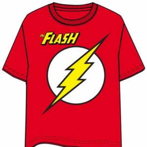 Camiseta The Flash Logo Talla L