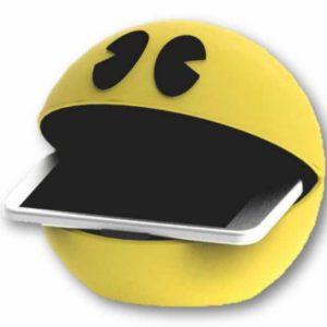 Cargador inalámbrico Pac Man