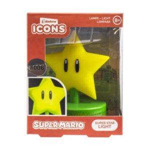 Lámpara de Estrella de Super Mario
