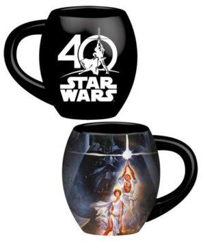 Taza 40 años star wars