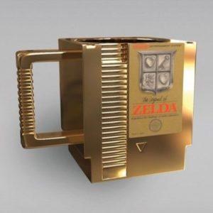 Taza Zelda cartucho NES