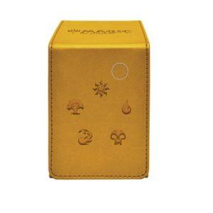 DECK ULTRA PRO FLIP ALCOVE BOX GOLD FOR MAGIC