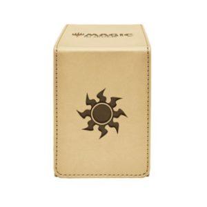 DECK ULTRA PRO FLIP ALCOVE BOX PLAINS FOR MAGIC