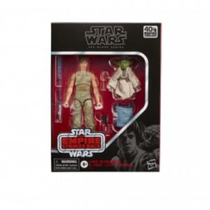 Hasbro Black Series Star Wars Luke y Yoda